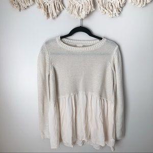 Altar'd State Cream Sweater